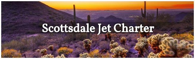 Charter Flights to Scottsdale, Arizona